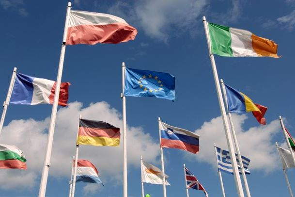 multinational flags